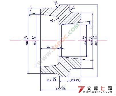 ca6140车床齿轮工艺规程与夹具设计(课程设计)